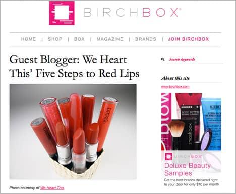 birchboxB Press