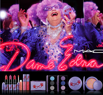 Dame Edna collection at MAC