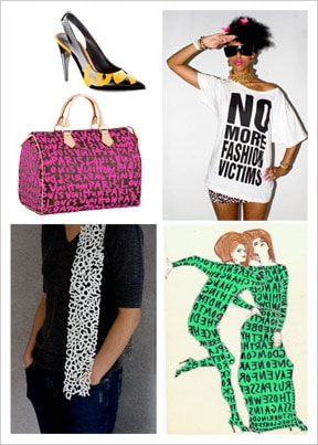 Typography in fashion