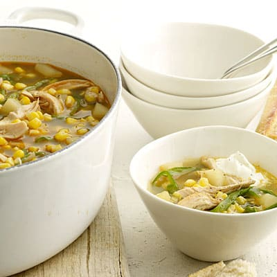 Chili Chicken and Veggie Soup