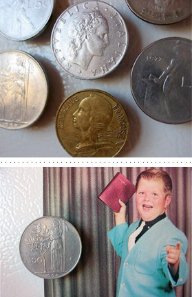 Money magnets – a cheap and chic project