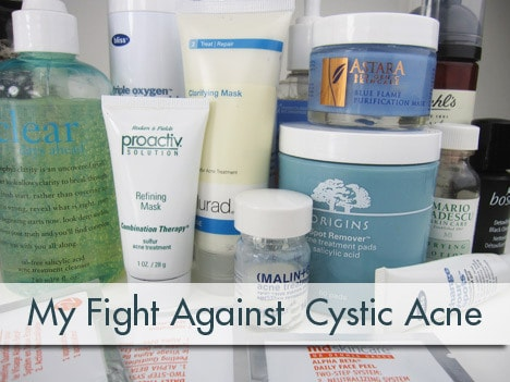 CysticAcne edit My fight against cystic acne