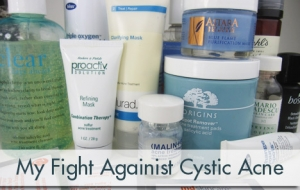 My fight against cystic acne