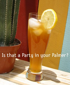 Party Palmers – cocktail of the month