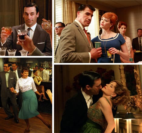 mad men collage