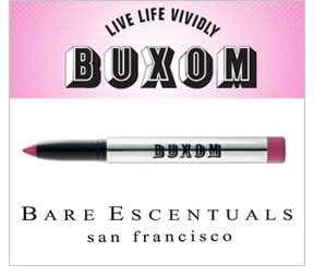 Bare Escentuals Buxom Big & Healthy Lip Stick and Insider Eyeliner – review