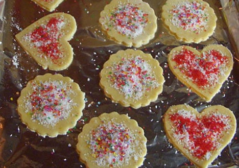 Coconut and Vanilla Sugar Cookie recipe