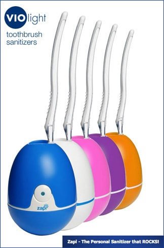 Zapi UV Toothbrush Sanitizer review