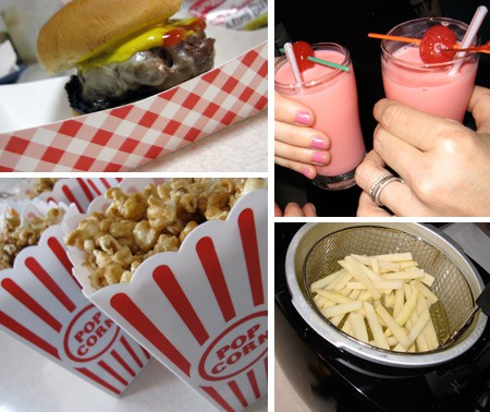 Food ideas for a Grease themed party