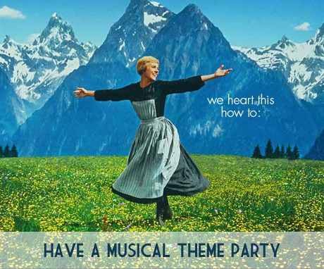 How to: have a Musical Theme party