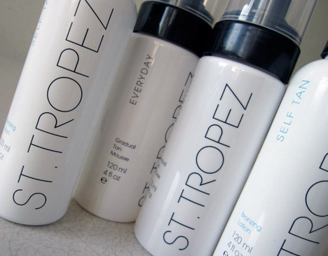 St. Tropez – natural-looking self tanners, honest!