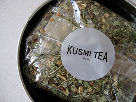 Kusmi Tea and their newest offering –  Be Cool