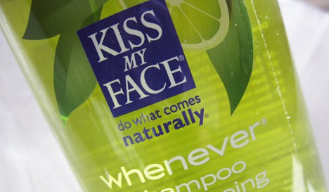If you want to go green, you can Kiss My Face