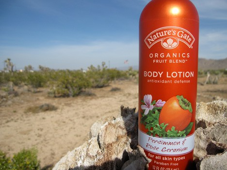 Nature's Gate Persimmon & Rose Geranium Body Lotion