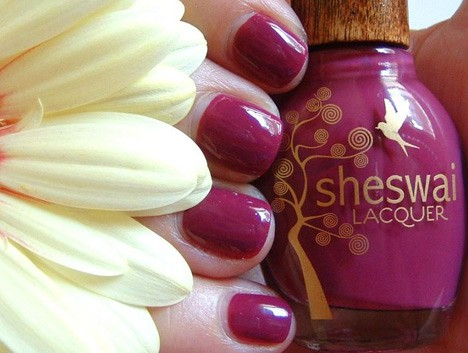 sheswai lacquer – an eco-chic solution for nails