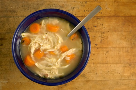 3 Things: Comfort Food (plus, a super easy recipe for Chicken Soup)