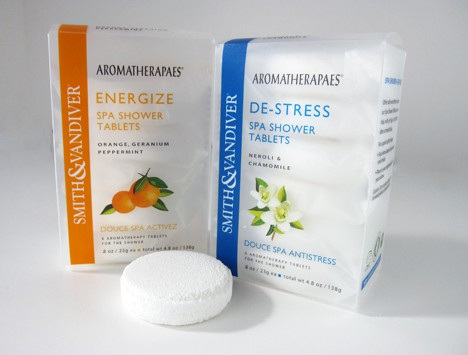 Smith & Vandiver Aromatherapaes Spa Shower Tablets review