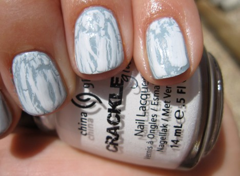 China Glaze – Crackle nail lacquer review