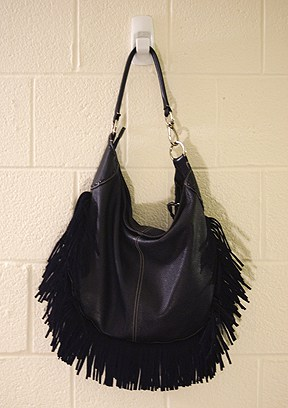 DIY: Fall's Hot Accessory – Leather Fringe Purse