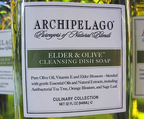 Arch Dish Soap B Archipelago Elder and Olive Dish Soap review