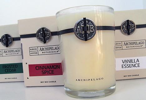 Archipelago Botanicals: Holiday Candles review