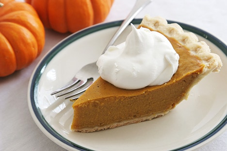Shaya's Pumpkin Pie recipe