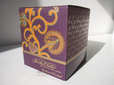 Crabtree amber2 Crabtree and Evelyn Smoky Amber Holiday collection review
