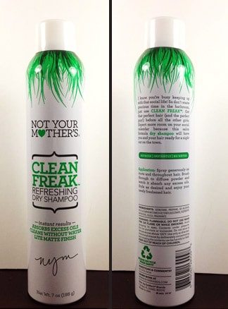 not your mother 39 s clean freak dry shampoo review we heart this. Black Bedroom Furniture Sets. Home Design Ideas