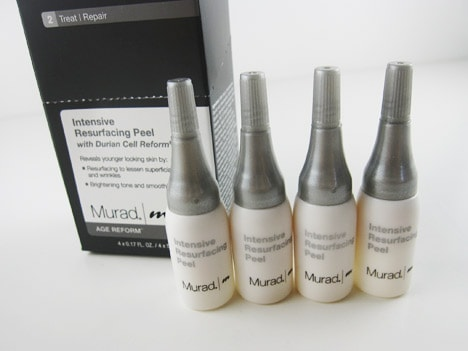 MuradPeel Murad Intensive Resurfacing Peel review