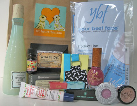 Gift Bag Details – Ruff's Raffle at Martini Madness