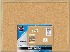 Corkboard AccArt 300x221 The Fine Art of Organizing Your Accessories