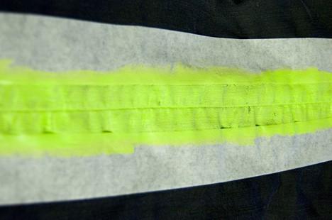 DIY NSJeans 4 DIY: Neon Striped Jeans