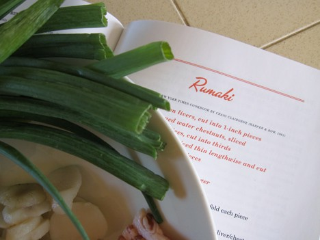 Rumaki4 The Unofficial Mad Men Cookbook and a Rumaki Recipe