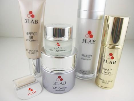 3LAB - Perfect C Treatment Serum -30ml/1oz Beauty Treats Sugar Lip Scrub Set, 0.48 oz, 6 count