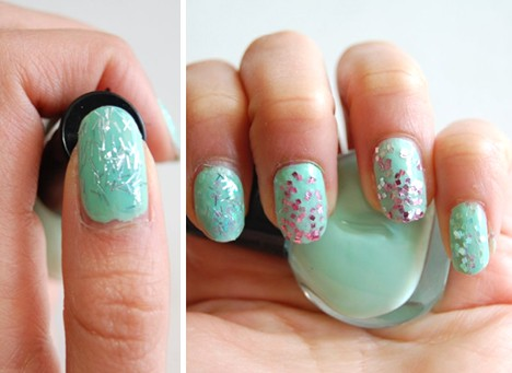 DIY Glitter Nail Polish 10 DIY: Customized Glitter Nail Polish