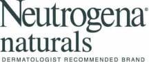 Neutrogena Naturals Logo Neutrogena Naturals makes it easy to be green