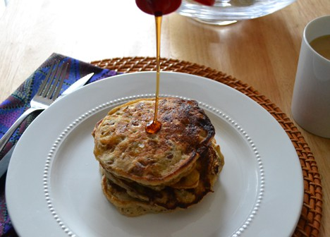Best of wht 2012: Banana Bread Pancake recipe