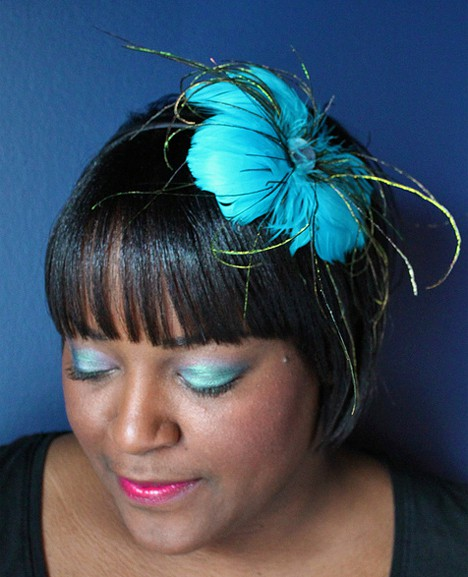 DY Dana 2 Top it off in style   David & Young Fascinators