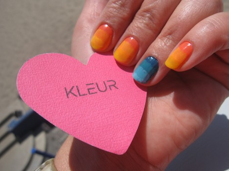 Kleur How To: Get a Salon Quality Manicure at Home