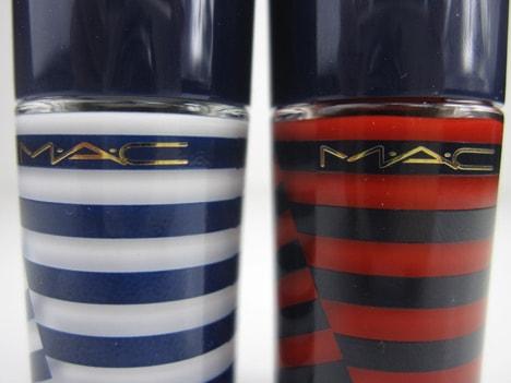 MACheysailorL MAC Hey, Sailor! Cheeks, Nails & Body   review, photos & swatches