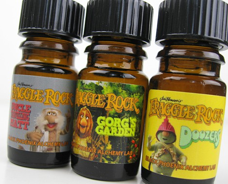 BPAL Fraggle Rock 5 BPAL Fraggle Rock Collection Review