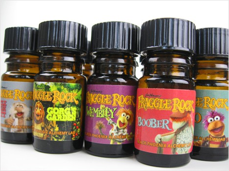 BPAL Fraggle Rock Intro2 BPAL Fraggle Rock Collection Review