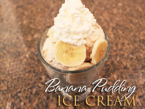 BananaPuddingIceCream Banana Pudding Ice Cream Recipe