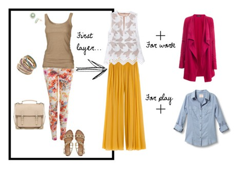 Fashion How To: Wear Layers During the Summer