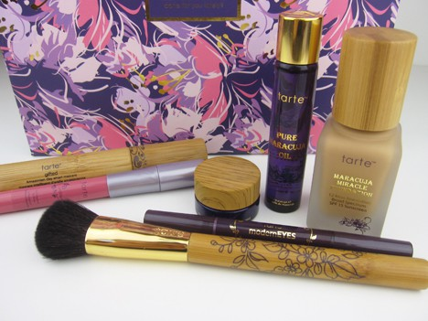 tarte0712B NEW tarte QVC Kit review   what has your makeup done for you lately?