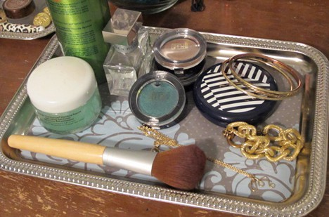 DIY: Customized Vanity Trays