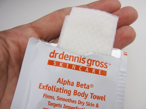 AlphaBetaBody3 Dr. Dennis Gross Alpha Beta Smoothing Body Towel review