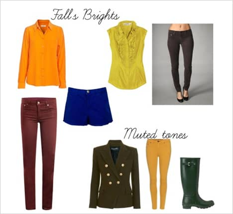 Color Coded: Top 5 Shades for Fall 2012