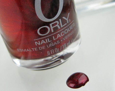 Orly Swatch GlamFallBeautyBoard Glam Beauty Board   Fall 2012 Trend Review