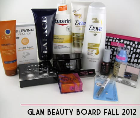 glam group Glam Beauty Board   Fall 2012 Trend Review
